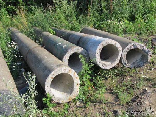 Бетонные канализационные трубы: плюсы и минусы
