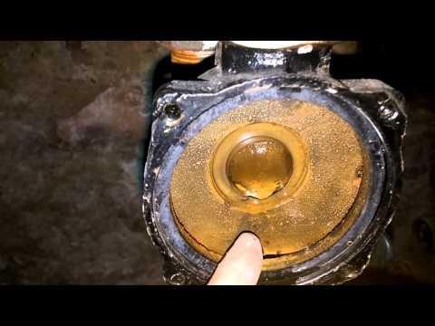 Поломки и ремонт циркуляционного отопительного насоса