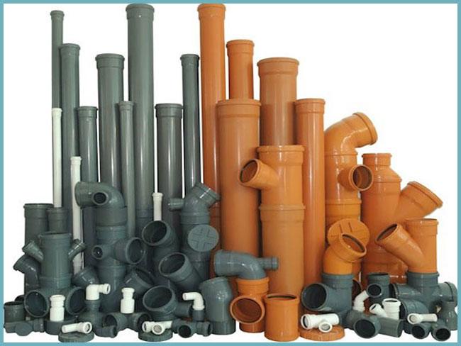 Фасонные части пластиковых канализационных труб