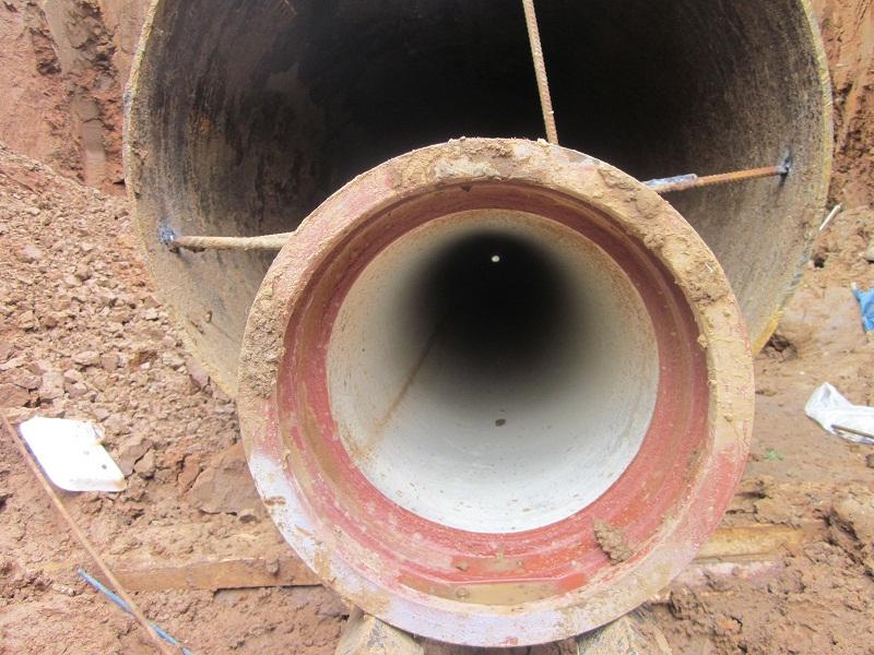 Футляр для канализационных труб