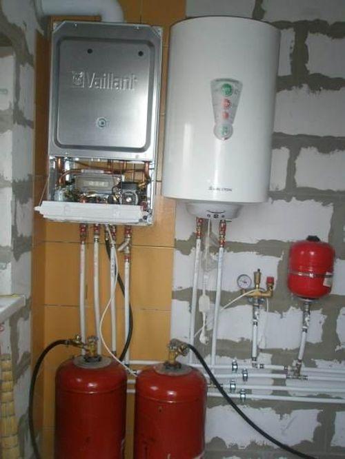 Газовый котел на сжиженном газе: особенности