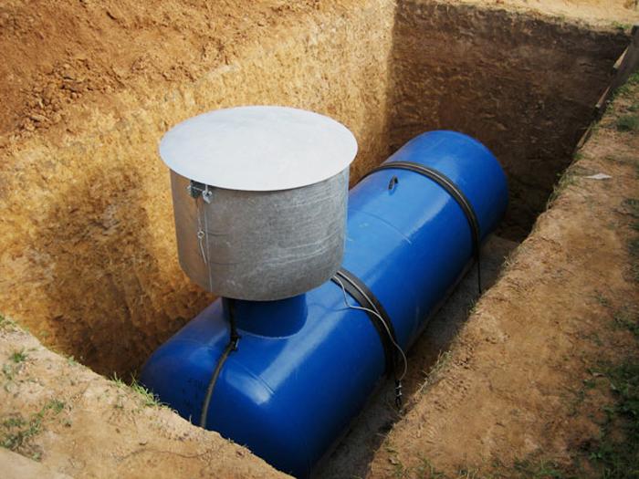 Газгольдер для отопления