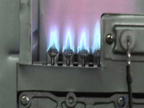Горелки для газовых отопительных котлов