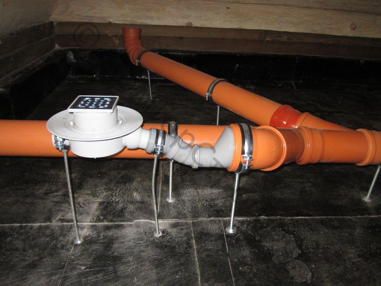 Как устанавливать канализационный трап?