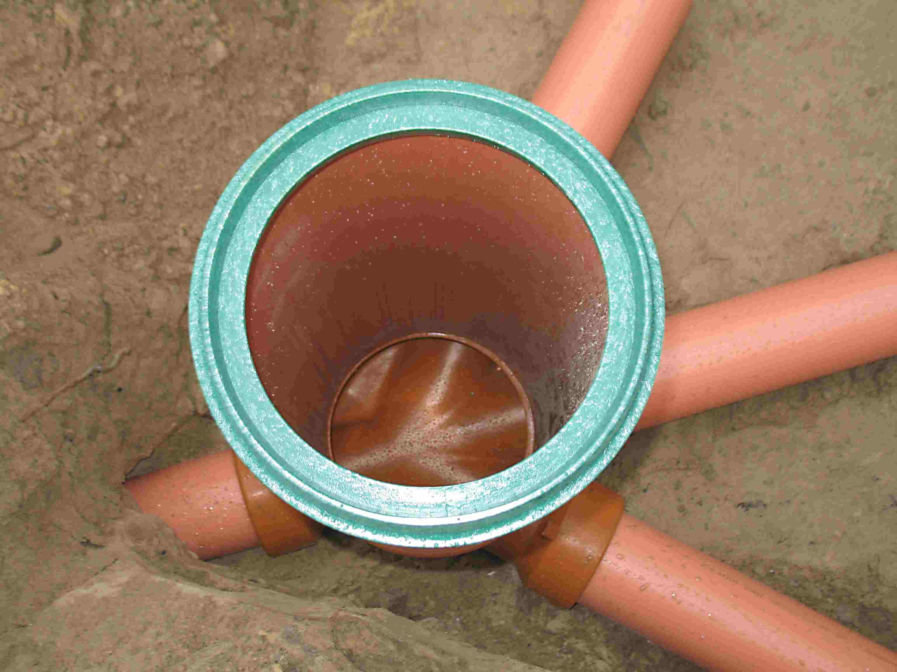 Виды канализационных колодцев
