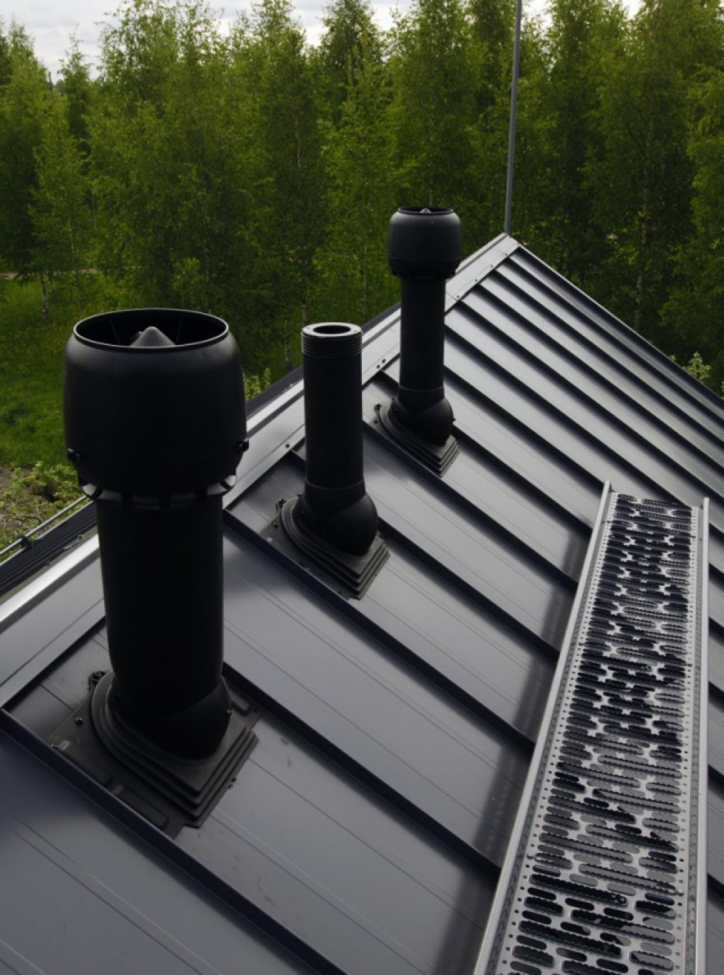 Зачем нужен выход канализации на крышу?