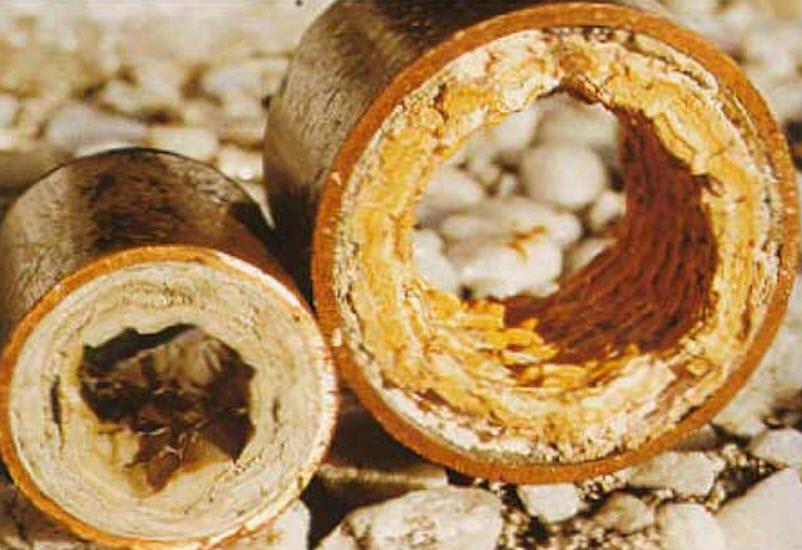 Как удалить накипь из труб отопления?