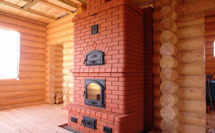 Виды кирпичных печей для дома