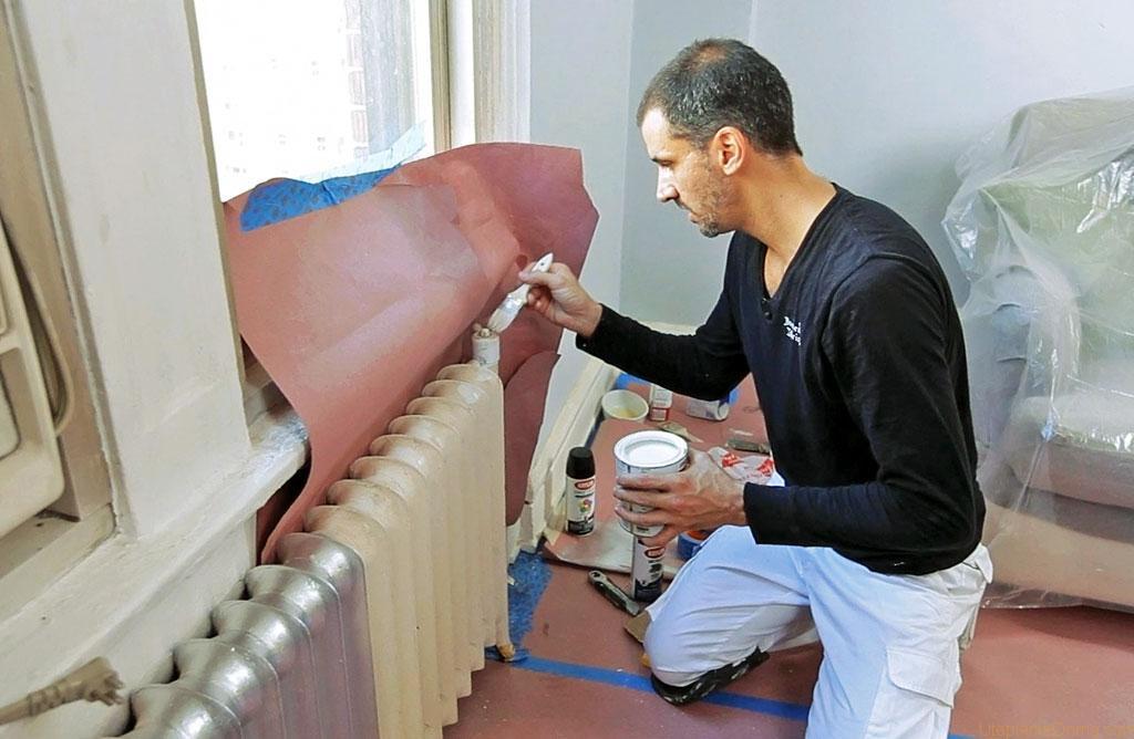 Чем окрашивать радиаторы отопления?