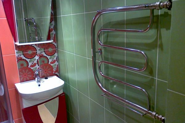 Полотенцесушитель для обогрева ванной комнаты