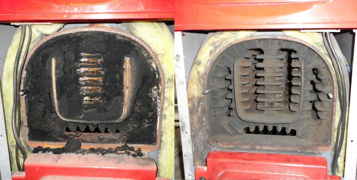 Сажа в газовом котле: как ее удалить?