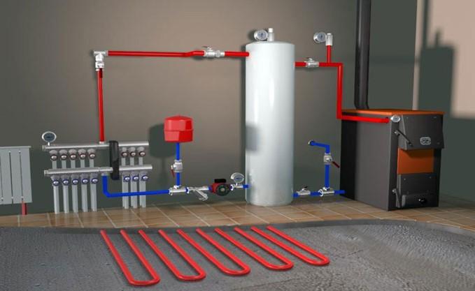 Из чего состоит автономная система отопления?