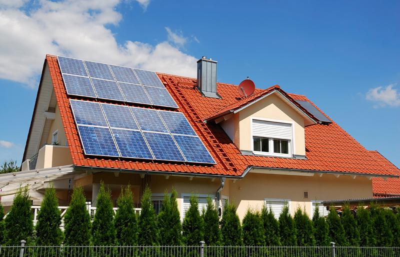 Отопление дома солнечными батареями