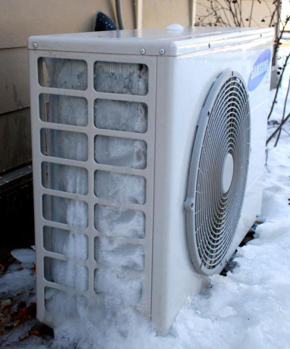Сплит-система для зимнего обогрева жилища