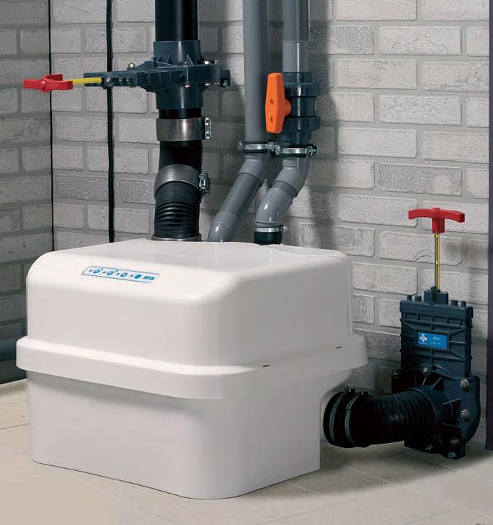 Как работает канализационная установка?