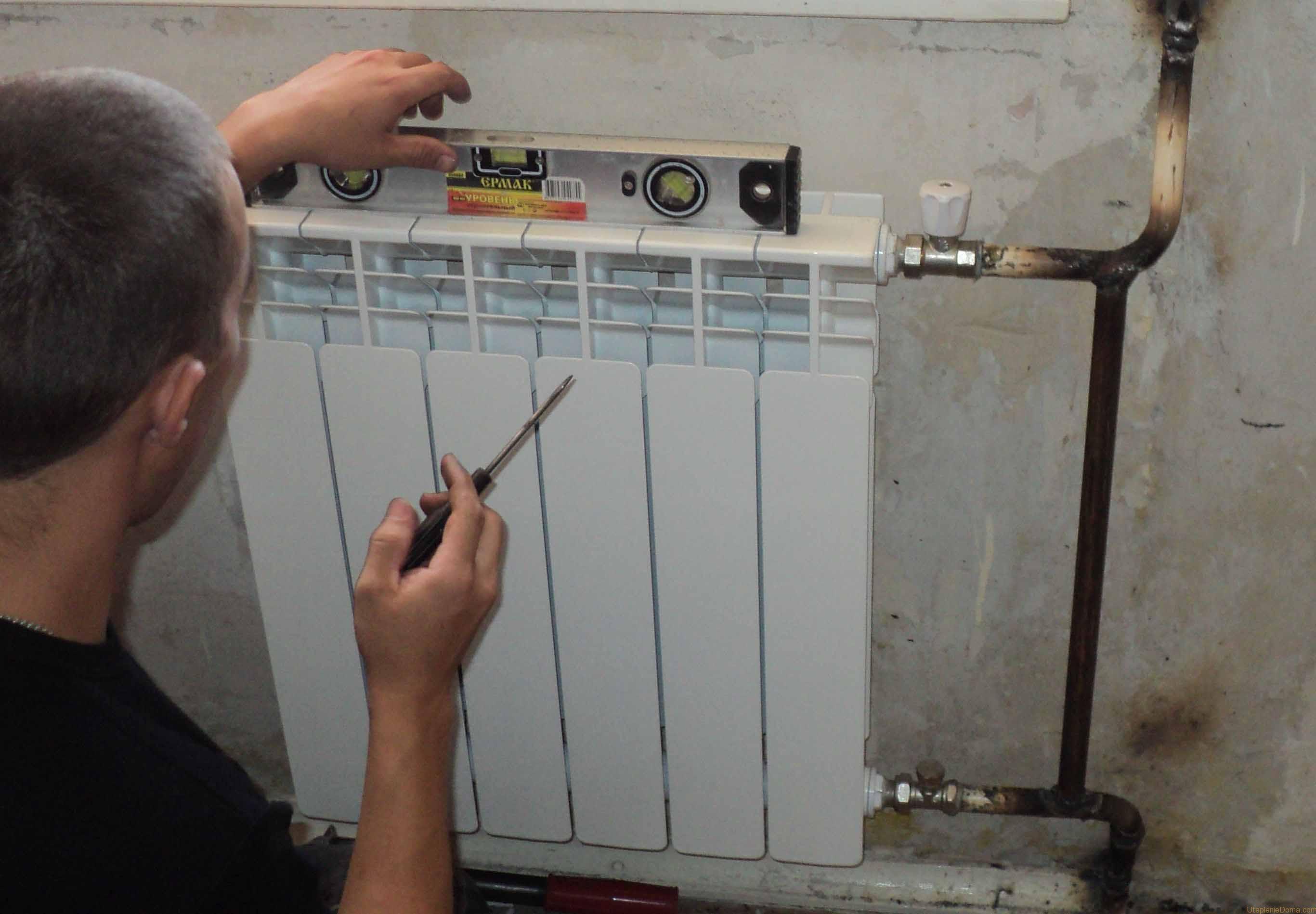 Где устанавливать радиаторы отопления?