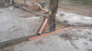 Прокладка наружной канализации в Нижнем Новгороде фото 1