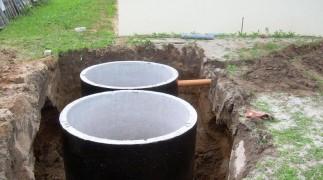 Септик из бетонных колец в Нижнем Новгороде и Нижегородской области фото 1