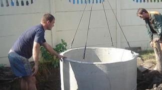 Септик из бетонных колец в Нижнем Новгороде и Нижегородской области фото 3